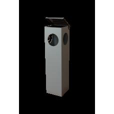 Coş de gunoi cu scrumieră УП-1 din inox