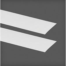 Capac pentru placă de agățat 425x1x47 mm, alb