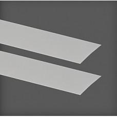 Capac pentru placă de agățat 425x1x47 mm, argintiu