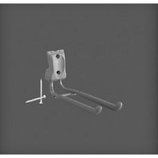 Cârlig metalic 70x244x109 mm, argintiu