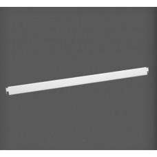 Bară de fixare metalică pentru poliță 907x9x31 mm, alb