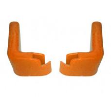 Accesorii pentru cărucior cumpărături - protecții perete oranj