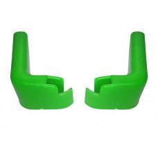 Accesorii pentru cărucior cumpărături - protecții perete verde