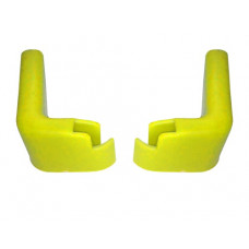 Accesorii pentru cărucior cumpărături - protecții perete, galben