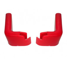 Accesorii pentru cărucior cumpărături - protecții perete, roșu