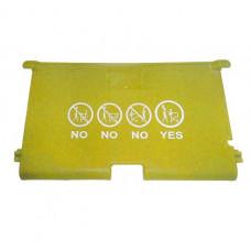 Accesorii pentru cărucior cumpărături - șezut pentru copii, galben