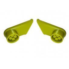 Accesorii pentru cărucior cumpărături - mâner, verde deschis