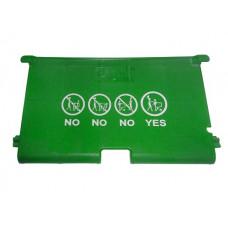 Accesorii pentru cărucior cumpărături - șezut pentru copii, verde