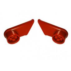 Accesorii pentru cărucior cumpărături - mâner, roșu