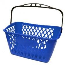 Coș din plastic MINI TYKO 22 LT (mâner negru), albastru