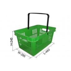Coș din plastic №3, verde