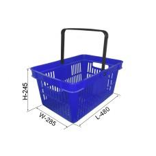 Coș din plastic №4, albastru