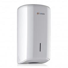 Dispenser pentru hârtie WC (alb) ABS