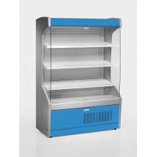 Vitrină frigorifică de perete, delicatesse, cu perdea de noapte R290,cu iluminare, L=1000 mm