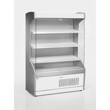 Vitrină frigorifică de perete, delicatesse, cu perdea de noapte R290, cu iluminare, L=1300 mm