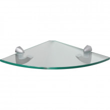 Poliţă Glassline 250mm sticlă transparentă