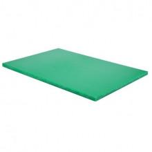 Tocător din plastic pentru fructe și legume 450х300х13 mm, verde