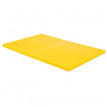 Tocător din plastic pentru carne de pasăre 450х300х13 mm, galben
