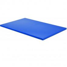 Tocător din plastic pentru pește 450х300х13 mm, albastru
