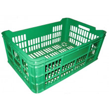 Ladă din plastic A112, 600x400x250 mm, verde