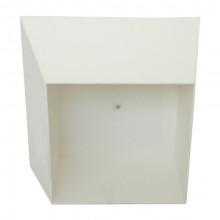 Cutie decorativă de perete 440x440x215 mm, alb