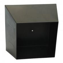 Cutie decorativă de perete 440x440x215 mm, negru