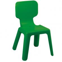 Scaun din plastic pentru copii, 420x400x330 mm, verde
