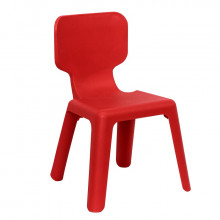 Scaun din plastic pentru copii, 420x400x330 mm, roșu