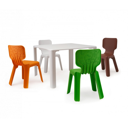 Scaune Din Plastic Pentru Copii.Scaun Din Plastic Pentru Copii 420x400x330 Mm Alb De La Vitra Md