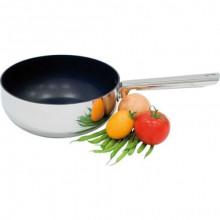 Cratiță pentru sosuri cu 3 straturi, cu acoperire din teflon, diametru 22 cm, fără capac