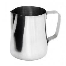 Cană cu mâner din oțel pentru spumarea laptelui 0,6 l