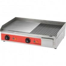 Grill cu suprafața de prăjire netedă / striată 3,3 kW