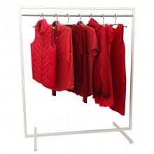 Cuier pentru îmbrăcăminte din oţel, 1200x600x1400mm (9001)